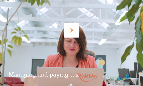 Managing and paying tax